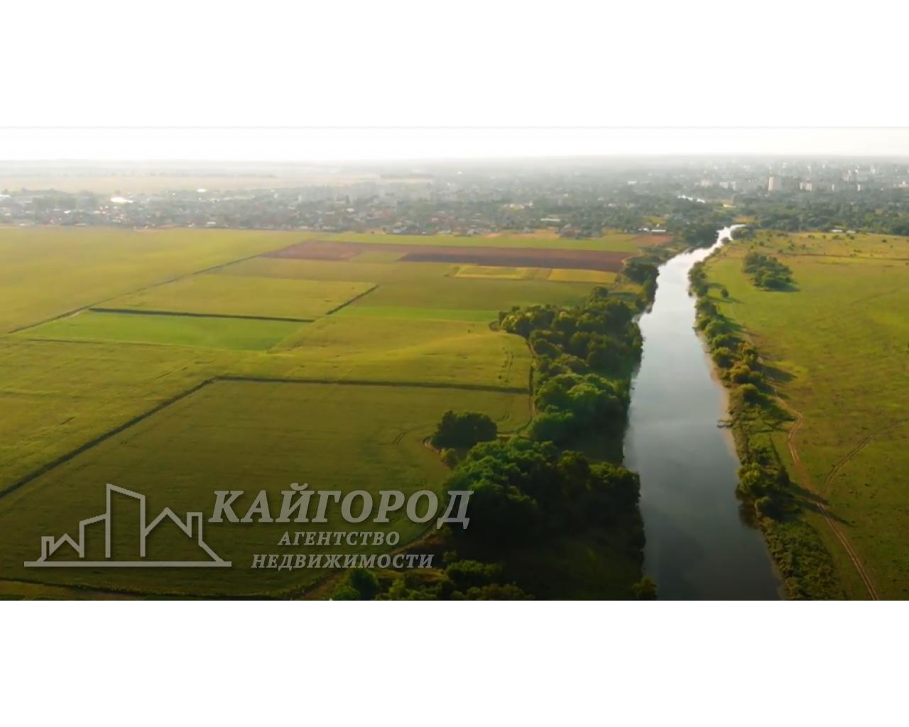 Продам земельные участки в живописном месте на берегу речки Рось!