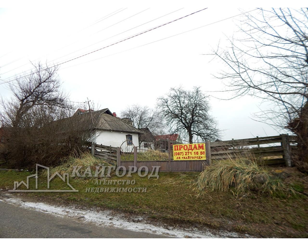 Продам шикарный участок под строительство с домиком в селе Пилипча