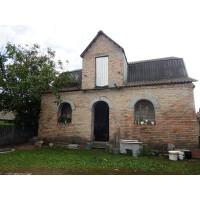 Недостроенный дом рядом с р.Роставица в с.Матюши